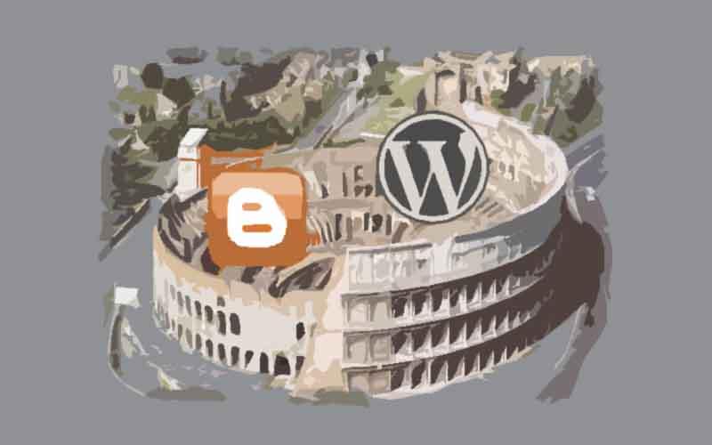 ¿WordPress o Blogger? Lo que todo blogger se pregunta