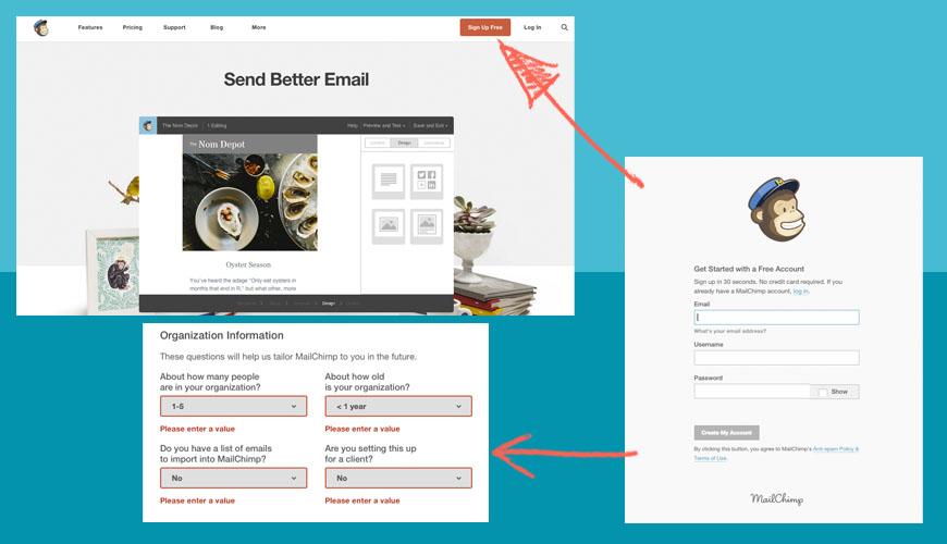 Hacer tu Newsletter con Mailchimp es muy sencillo