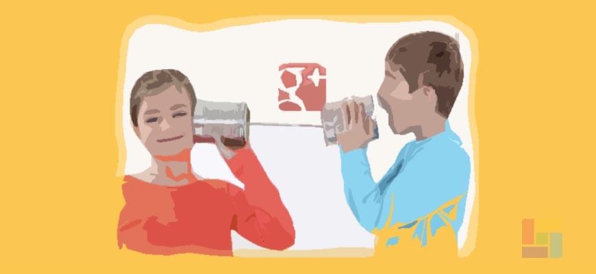 La conversación seoductora en Google+